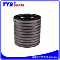 Spgw oil seals for excavator hydraulic seals for excavator