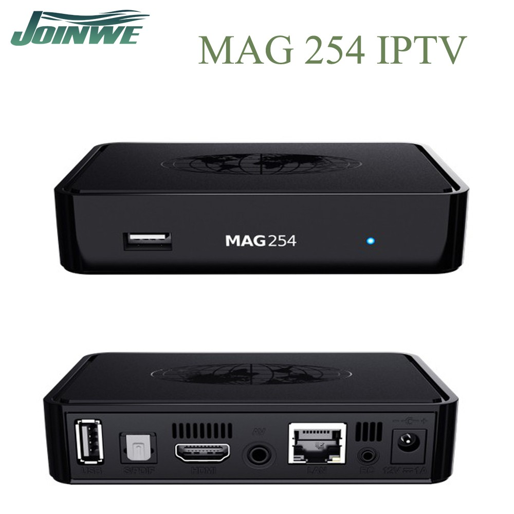 Wechip MAG 250 Linux 2.6.23 Iptv Set Top Box European IPTV Account HDTV MAG254 ip tv box