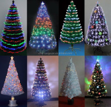 2016 new designs hot selling fiber optical LED sourcing Christmas tree