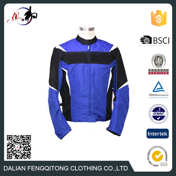 Top Quality OEM Textile Racing Motorcycle Jacket with CE Armor