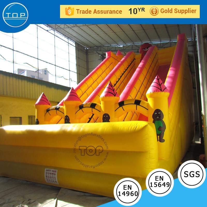 TOP INFLATABLES 2018 hot sale suppliers kids slides inflatable beach water slide with CE certificate
