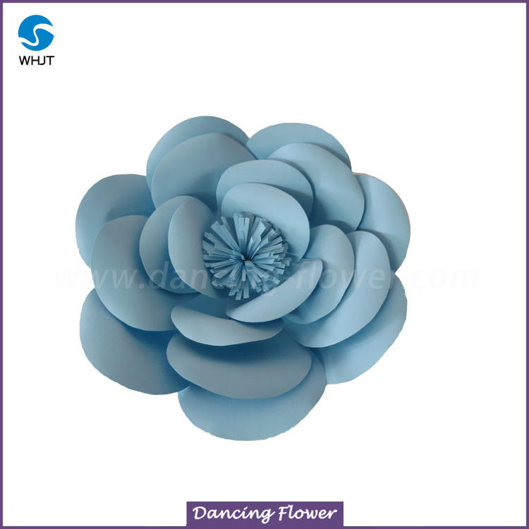 Party Decoration Popular Paper poppy flower wall for hot sale