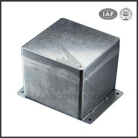 ISO custom oem high precision die cast aluminum electrical boxes