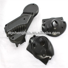 Factory Supply custom Black ABS plastic auto spare parts car accessories