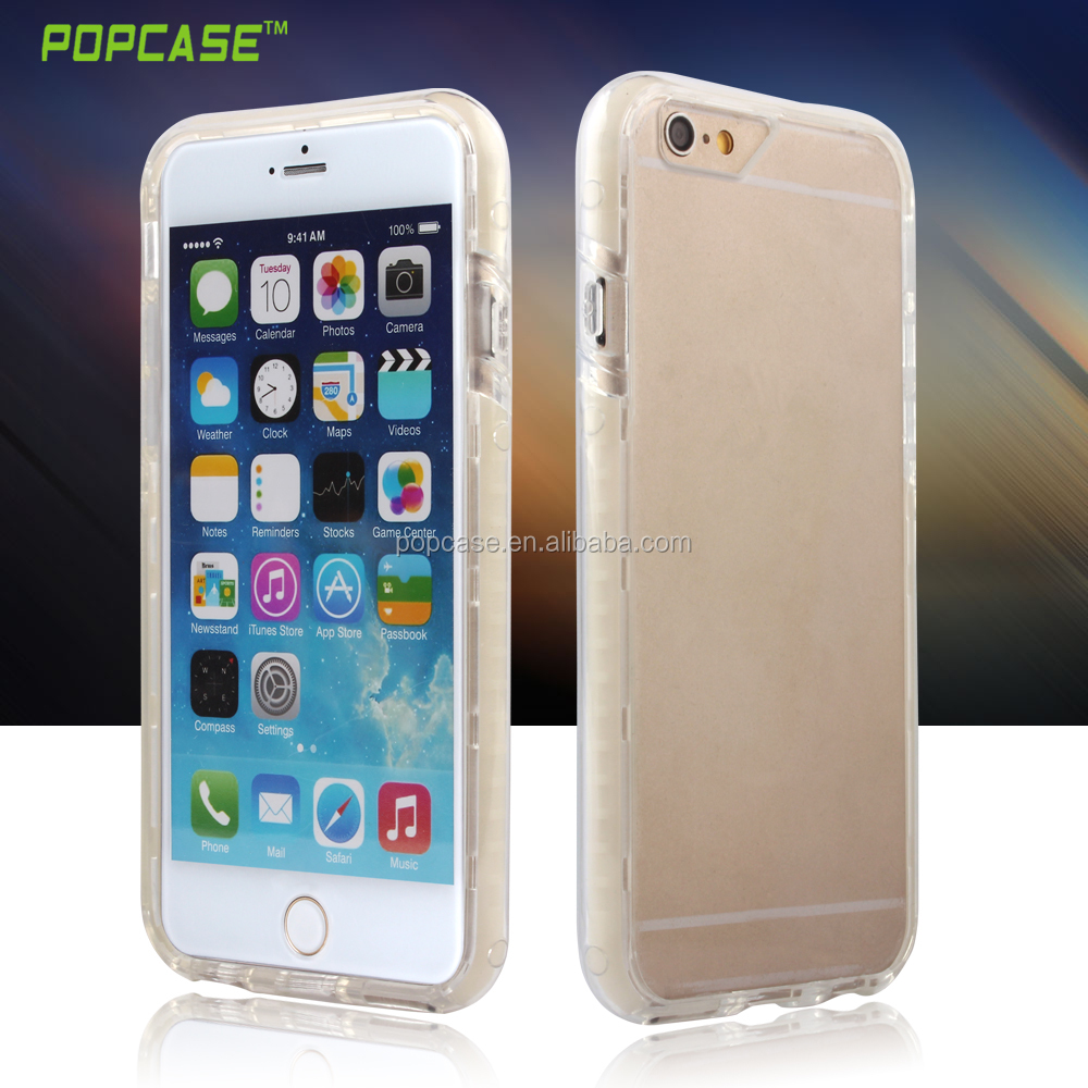 High Quality Transparent PC+TPU+Silicone Mobile Cover For Iphone7 Case
