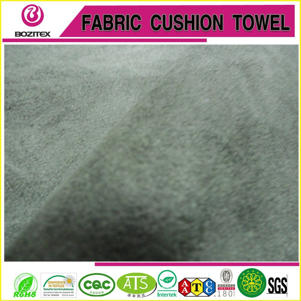 2 way stretch suede fabric for high quality fashion garment
