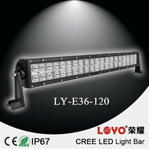 120W 12v led light bar for trucks tractor ATV offroad 4X4 led light bar worklight led