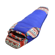 waterproof winter North Rim Extreme Weather Sleeping Bag cold weather camping Mummy wash down sleeping bag(HT8018)