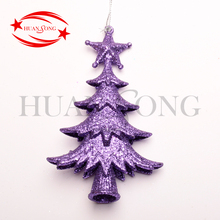 Custom Christmas decorating,plstic laser cut tree decoration ornament for Christmas