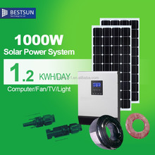 BESTSUN SOLAR wholesale price renewable energy 1000W solar panel price in pakistan