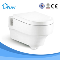 Wc hot sale sanitary ceramic wc wall hung toilet item