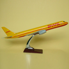 DHL resin plane model,resin scale model plane,aircraft plane model