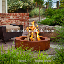 Top quality stainless firepit burner corten steel fire pit ring