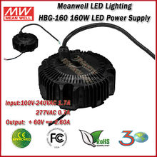 Meanwell HBG-160-60 (160W 60V 2.6A) Single Output 160W 60V IP65 LED Driver And LED Power Supply