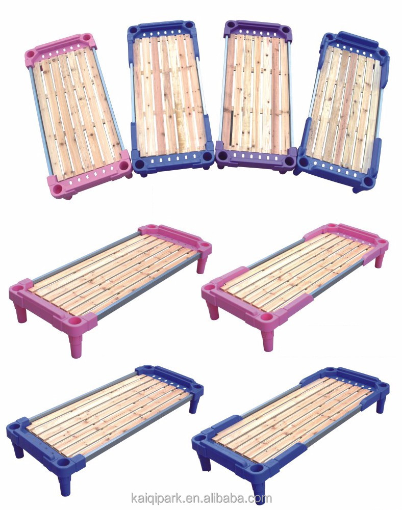 kindergarten children bed furniture preschool stackable bed