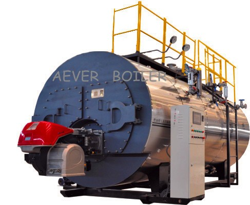 China 4t gas boiler steam output for good sale