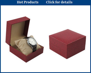 Factory cheap wooden packing box for watch storage wholesale JZPB005