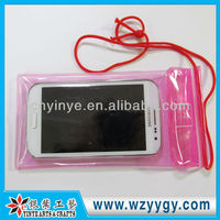 Pvc Waterproof Case Pouch Bag With One Logo Printing