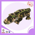 camo crocodile plush toy