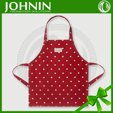 silk screen printing poyester women kitchen fashion cooking aprons