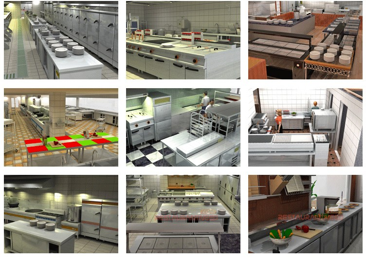 5 star hotel kitchen equipment list by furnotel buy for Equipement hotel