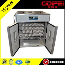 Poultry farming fully automatic chicken egg incubator/Egg incubator china