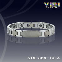 Tungsten Bracelet wholesale sideways cross bracelet
