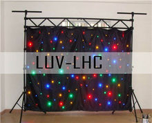 led star curtain/flexible stage backdrop curtain lights