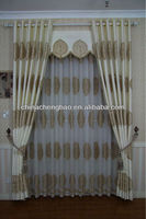 Luxury european style window curtain set