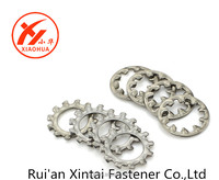 High Quality Customized Fasteners Metal Stainless Steel Interal/Exteral tooth lock washers