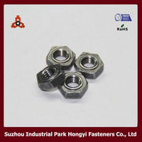Hex Spot Weld Wheel Nut For Truck DIN929 Stainless Steel