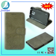 Genuine smart leather wallet flip cover case for samsung galaxy note gt-n7000
