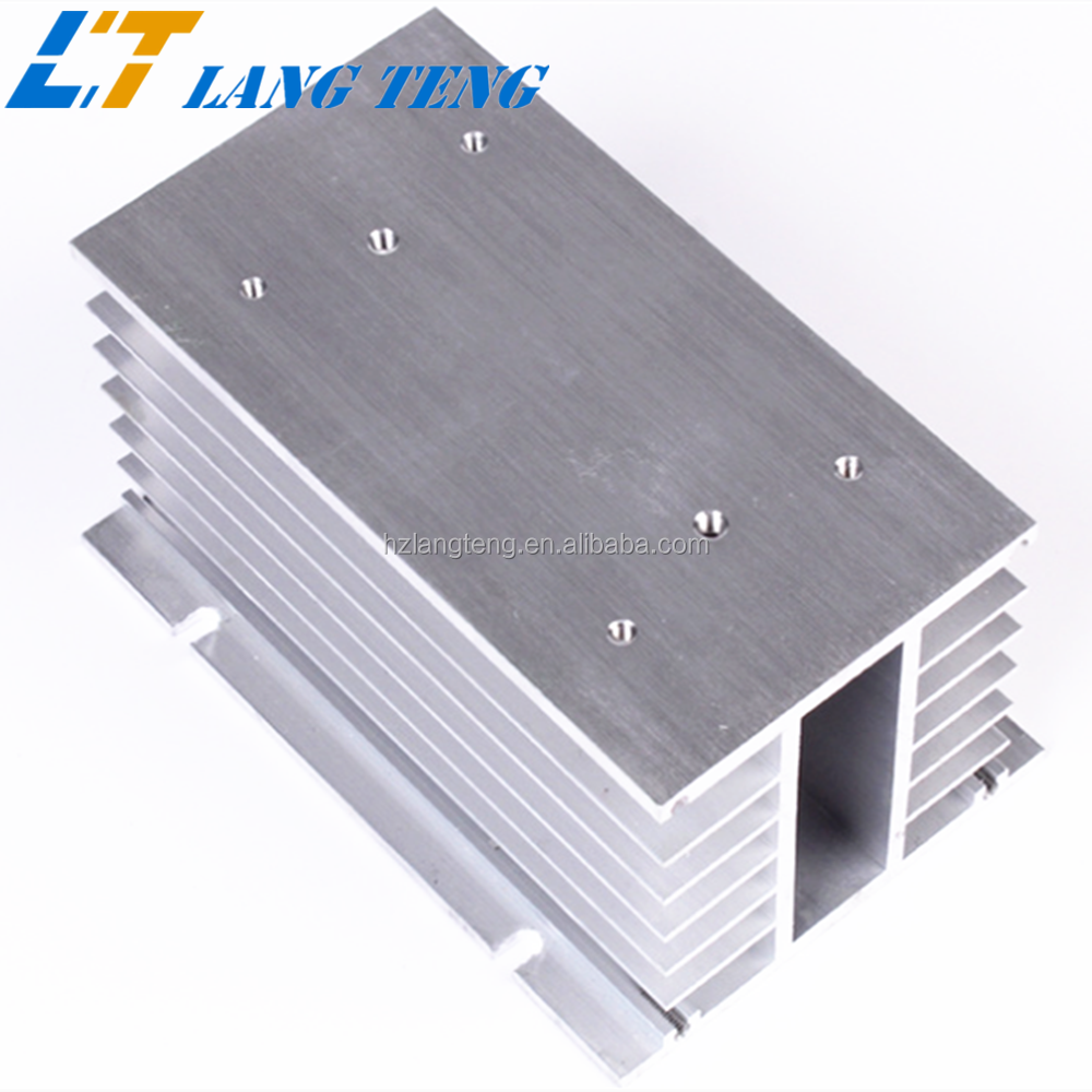OEM Solid State Relay Extruded Aluminum Profile Heatsink