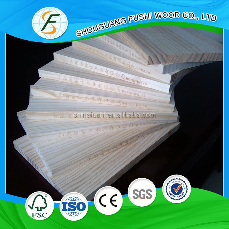 2015 New product paulownia finger joint boards / panels