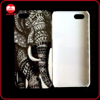 New Black Elephant Design Art Customized Style Hard PC Case for Iphone5
