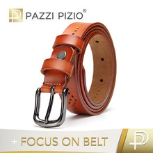 Custom color Luxury Fashion accessories leather belts for lady