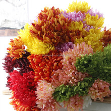 Artificial Flower Hanging Basket Wedding Artificial Flower In Bangkok Garland Chrysanthemum Stems Artificial Flower Online