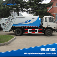 2015 China 5 Ton New Garbage Truck Dimensions