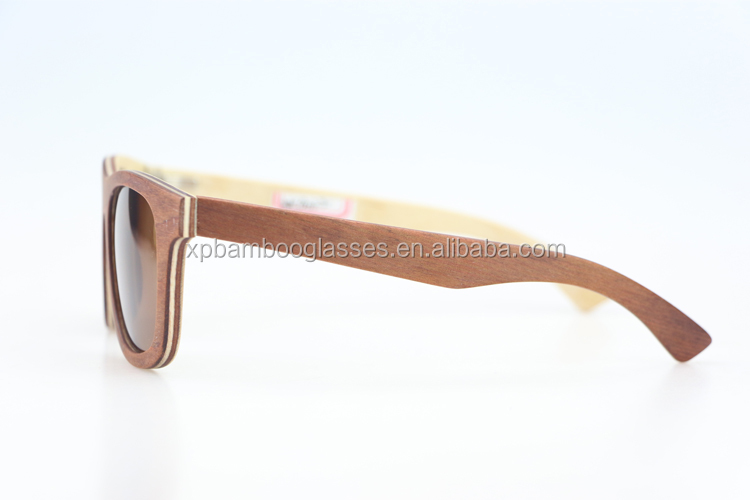 bulk buy custom logo bamboo wood sunglasses wholesale in China
