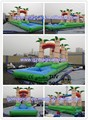 Jungle Inflatable Water Slip N Slide