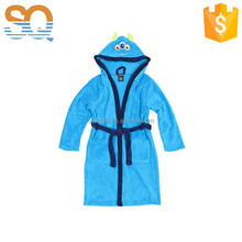 Hot selling terry cotton animal kids bathrobe