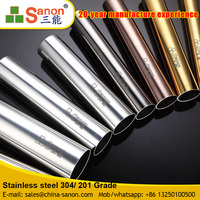Mirror Finshed Welded Stainless Steel SS