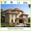 Outer asian paints wall paint rough texture spray paint with real stone effect material