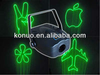80mW Green Mini Animation christmas party Laser lights show projector