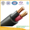 IEC 60502-1 0.6/1kV 2 core CU or AL conductor PVC insulated Unarmored PVC sheathed 70mm2 Power Cable