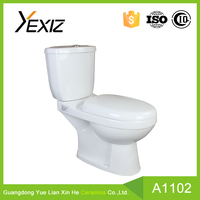 B1102 bathrooms designs two piece toilet,china toilet commode, upc toilet
