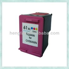 remaunfactured ink cartridge 61 CH564WN for HP61