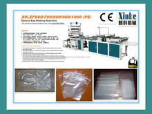 Fully Automatic Best Price PE zip bag making machine