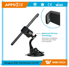 2017 Hot Sale Apps2car K2-S01 Windshield Suction Cup Universal Flexible 360 Degree Swivel Car Mount Phone Holder