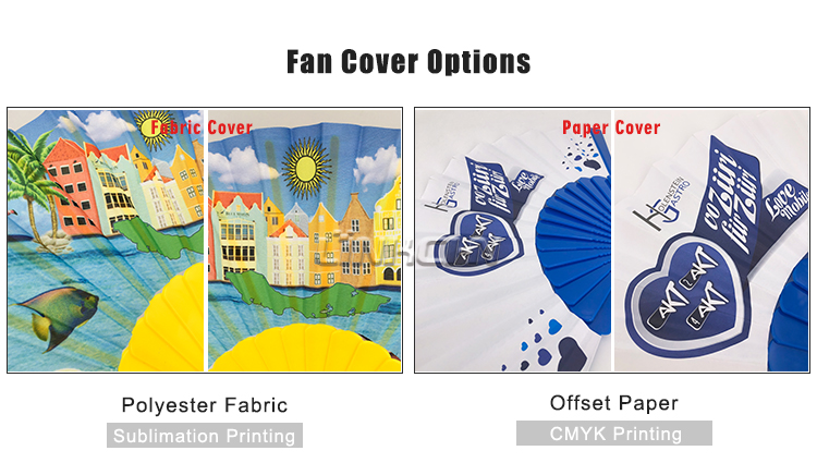personalized plastic hand-held hand fan for events